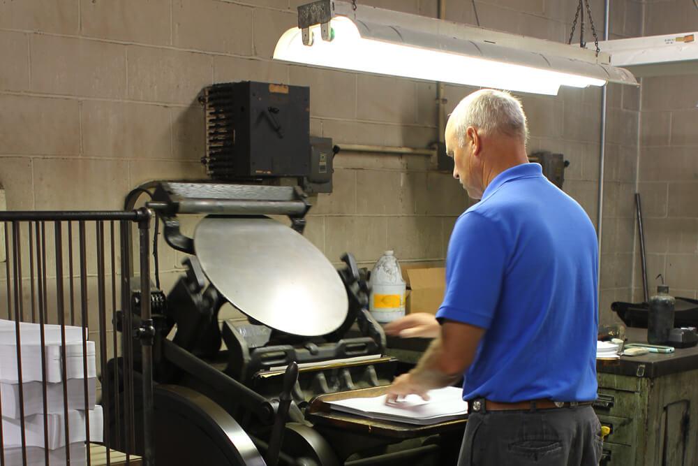 Louisville Kentucky Small Batch Book Printers