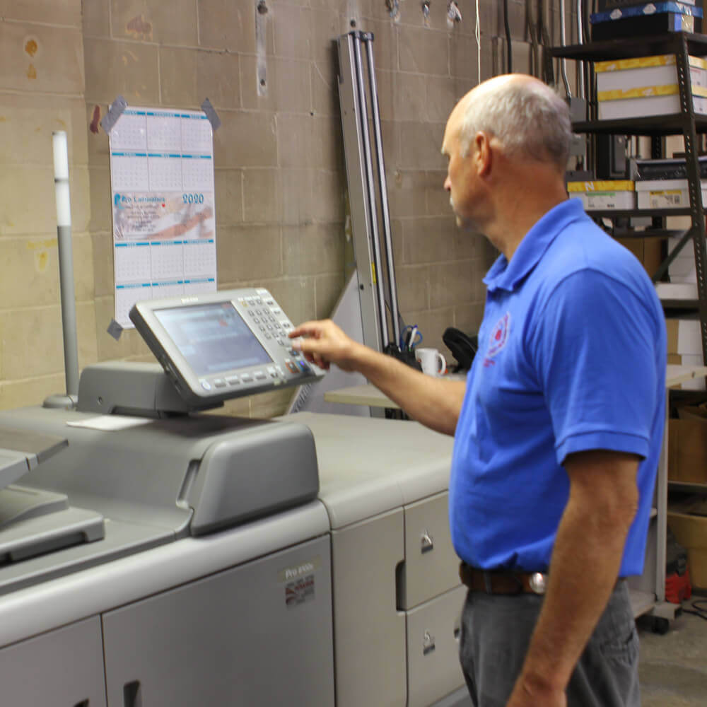 Small-batch independent book printing company, locally owned since 1910